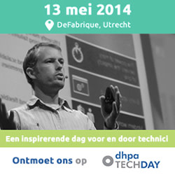 Banner DHPA Techday