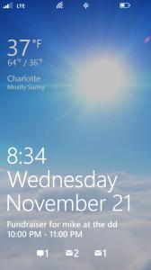 Windows 8x Unlock Screen