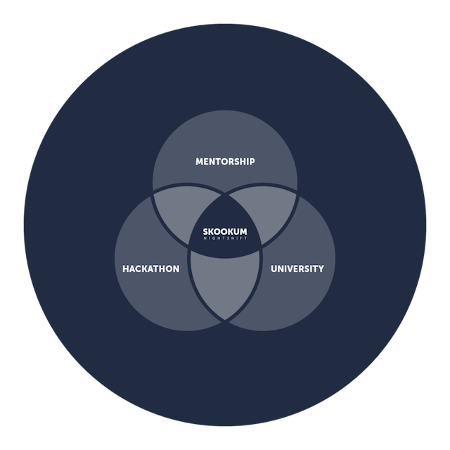 Venn diagram for Nightshift