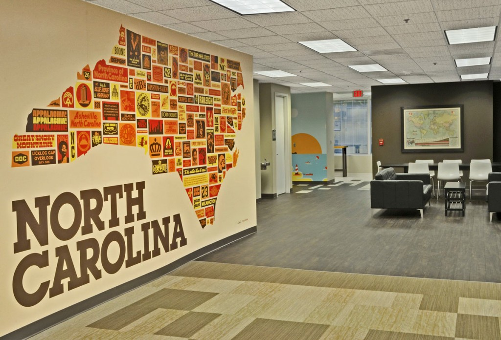 Aaron Draplin North Carolina Art for Skookum