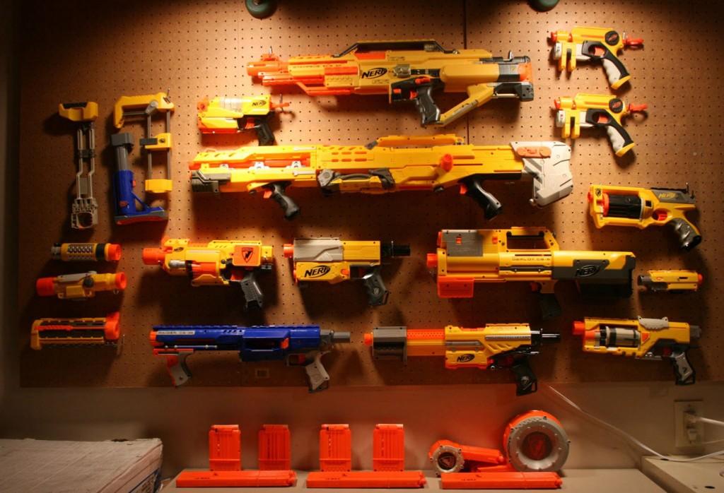 Nerf Gun Arsenal