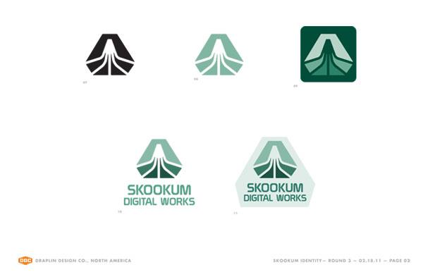 Skookum Logo Iterations