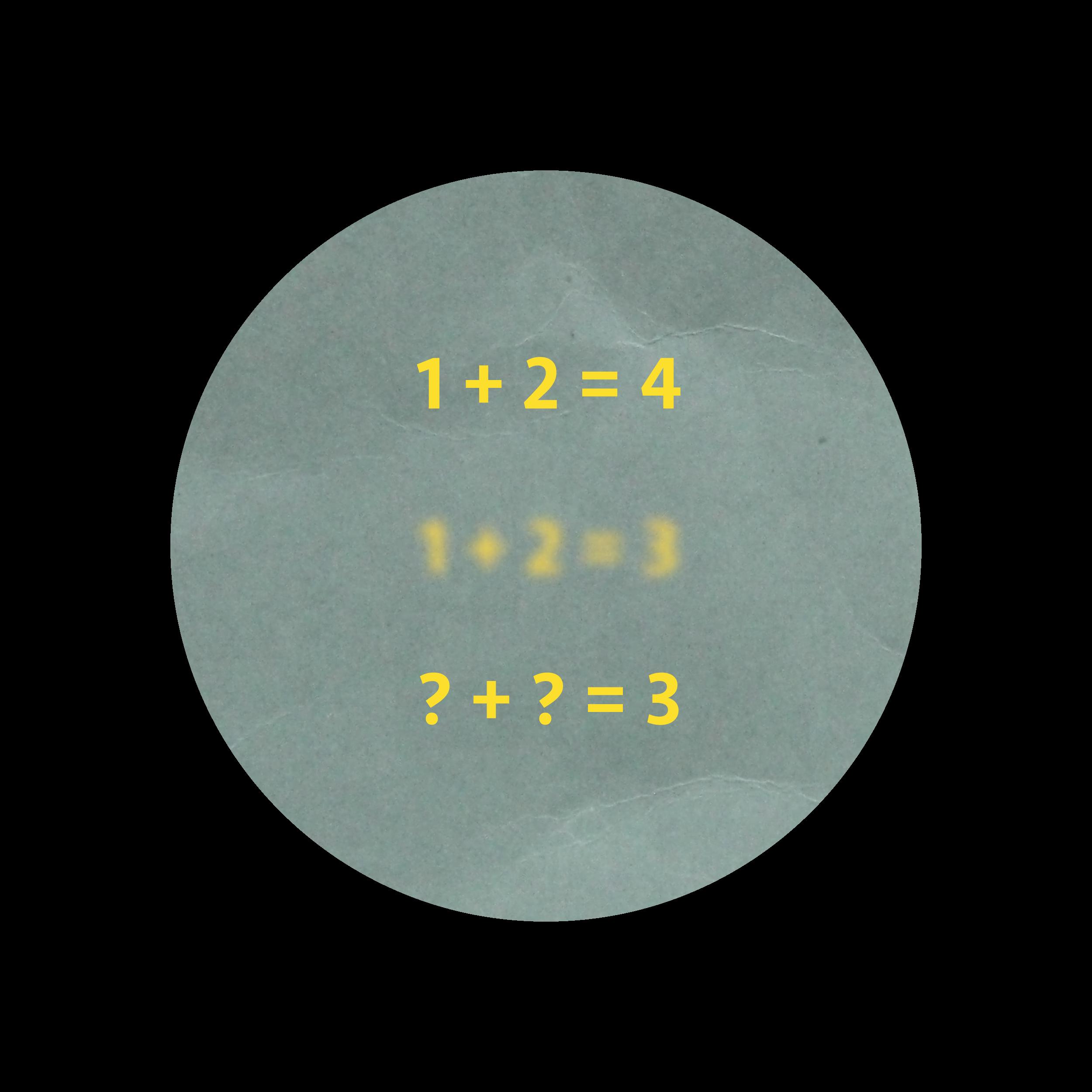 Fuzzy math graphic - 3