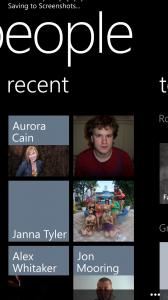 Recent Conversations on Windows Mobile
