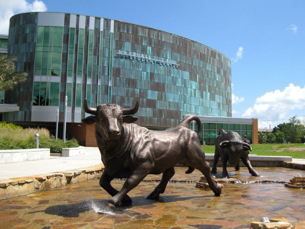 University of South Florida Bull Mascot