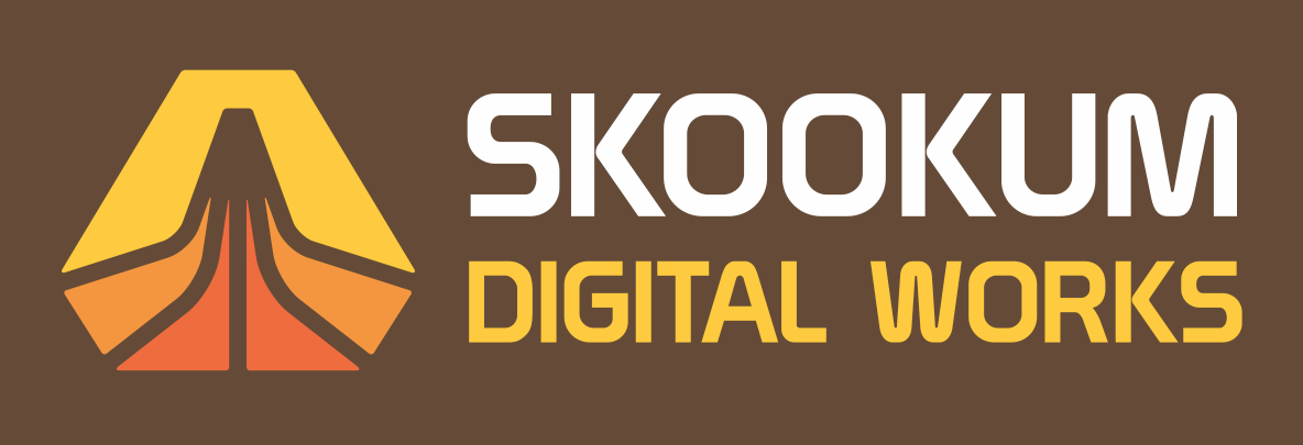 Skookum Digital Works Logo by Aaron Draplin