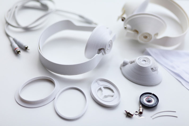 3D Printed Headphone Prototype