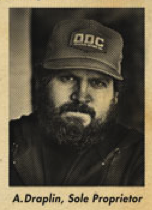 Old School Aaron Draplin Photo