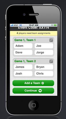 Custom Event App