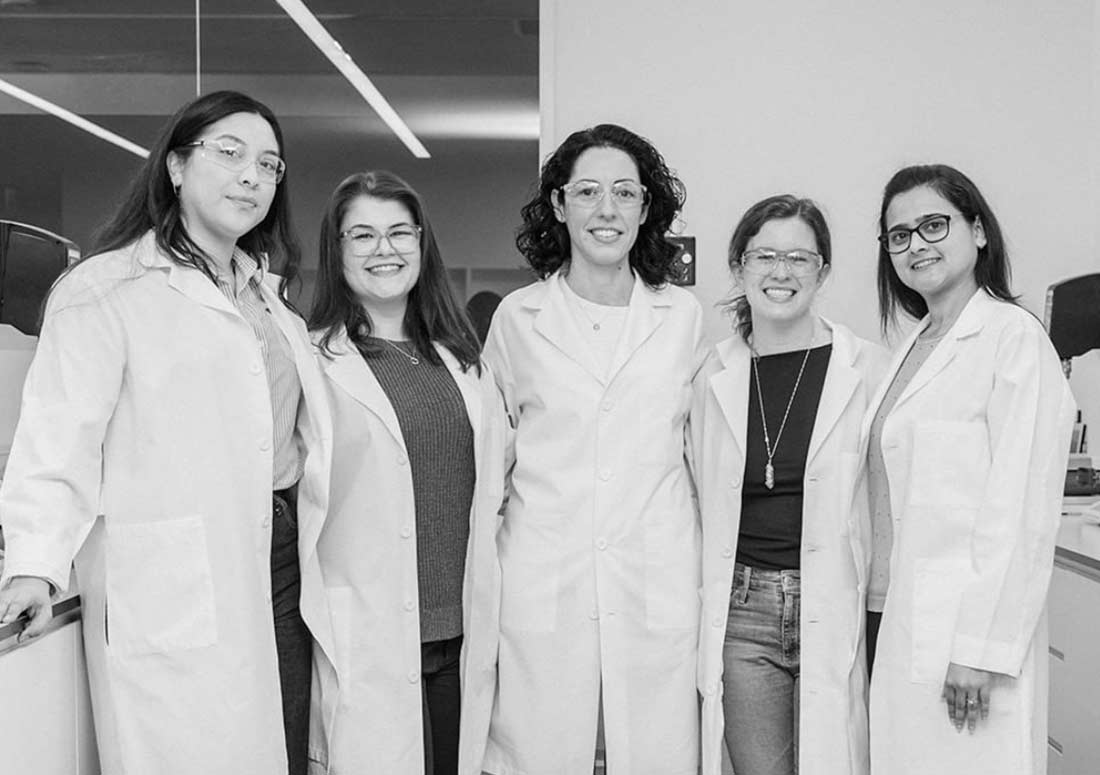Researchers in Beautycounter's In-house Lab