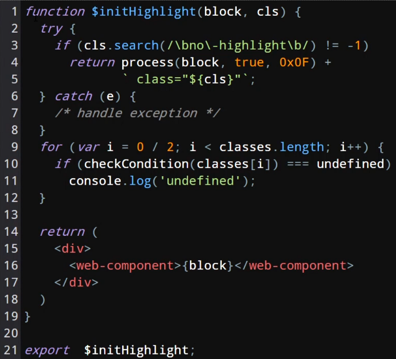 code editor final form