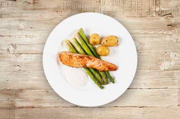 Eksempel på middag, fisk