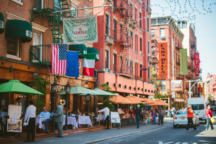 Good Food In Little Italy Nyc