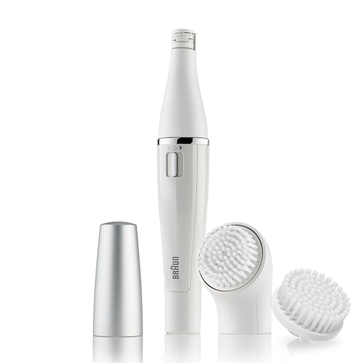 Braun Face 820 - facial epilator & facial cleansing brush with micro-oscillations - including 1 extra brush refill