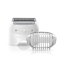 Shaver head and trimmer cap