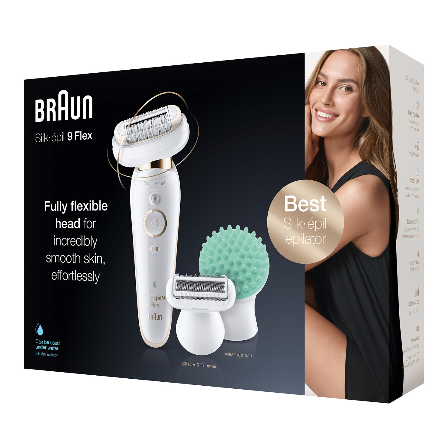 Silk-épil 9 Flex 9-020 epilator