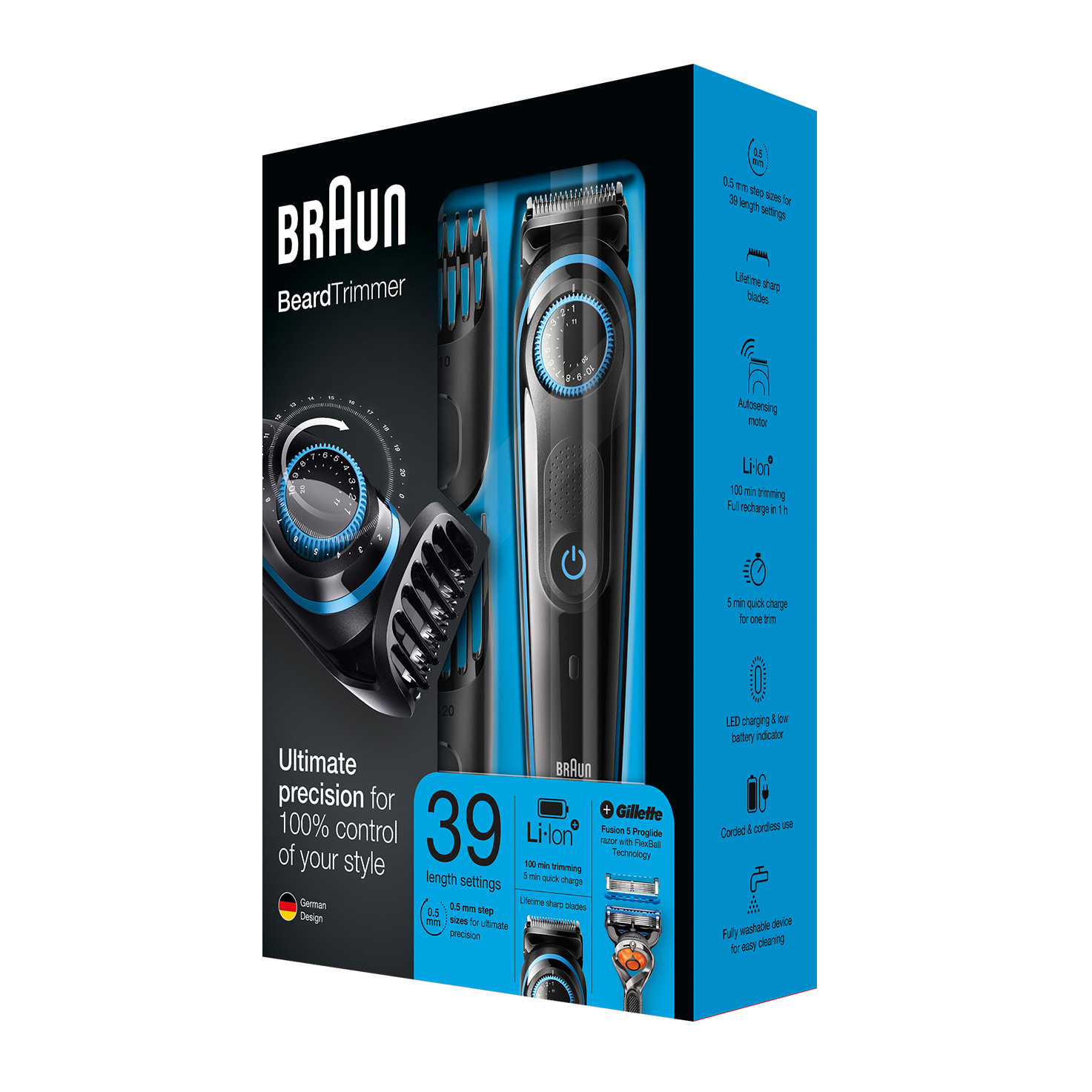 Braun BeardTrimmer BT5040 - Packaging