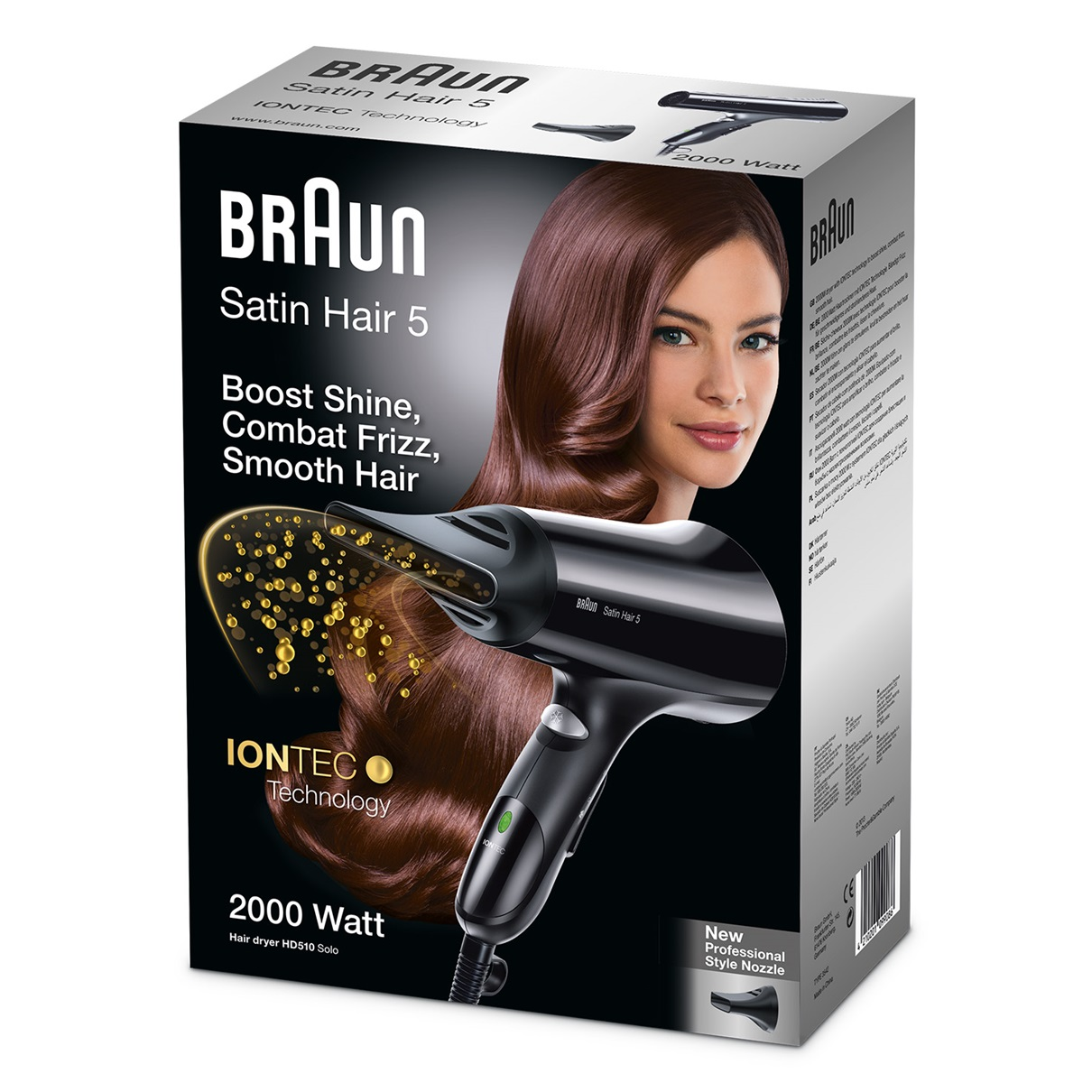 Фен Satin Hair 5 IONTEC HD510