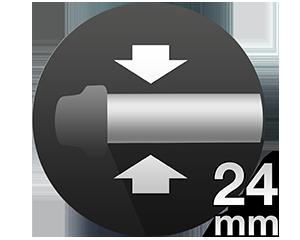 Стайлер для завивки волос Braun Satin Hair 7 с функцией ионизации IONTEC и валиком шириной 24 мм