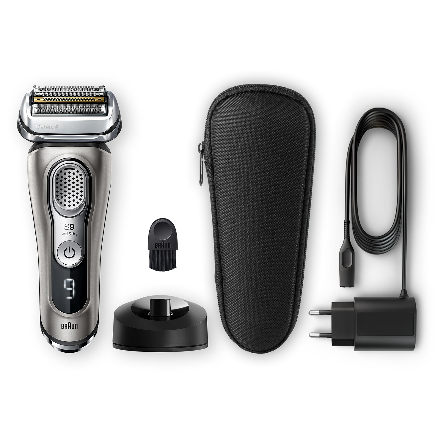 Series 9 9325s shaver - What´s in the box