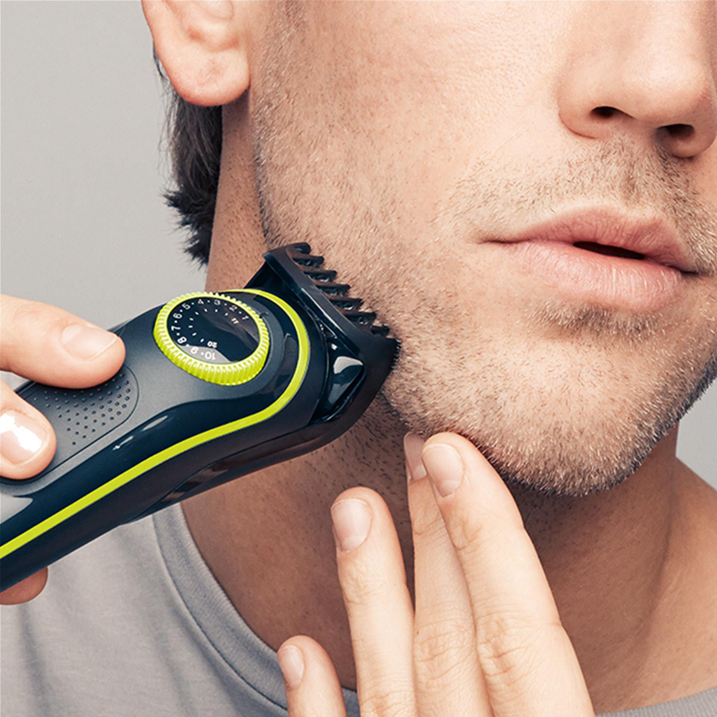 Braun BeardTrimmer BT3041 - In use