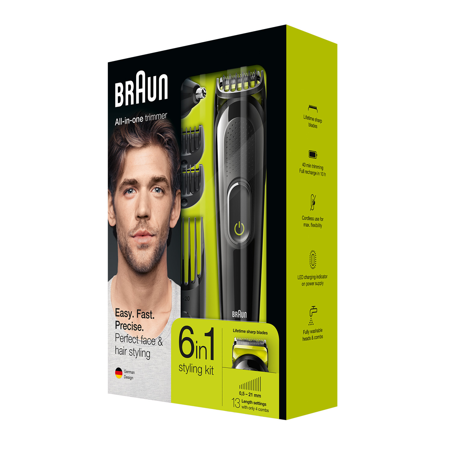 Braun All-in-one trimmer MGK3021 - Packaging
