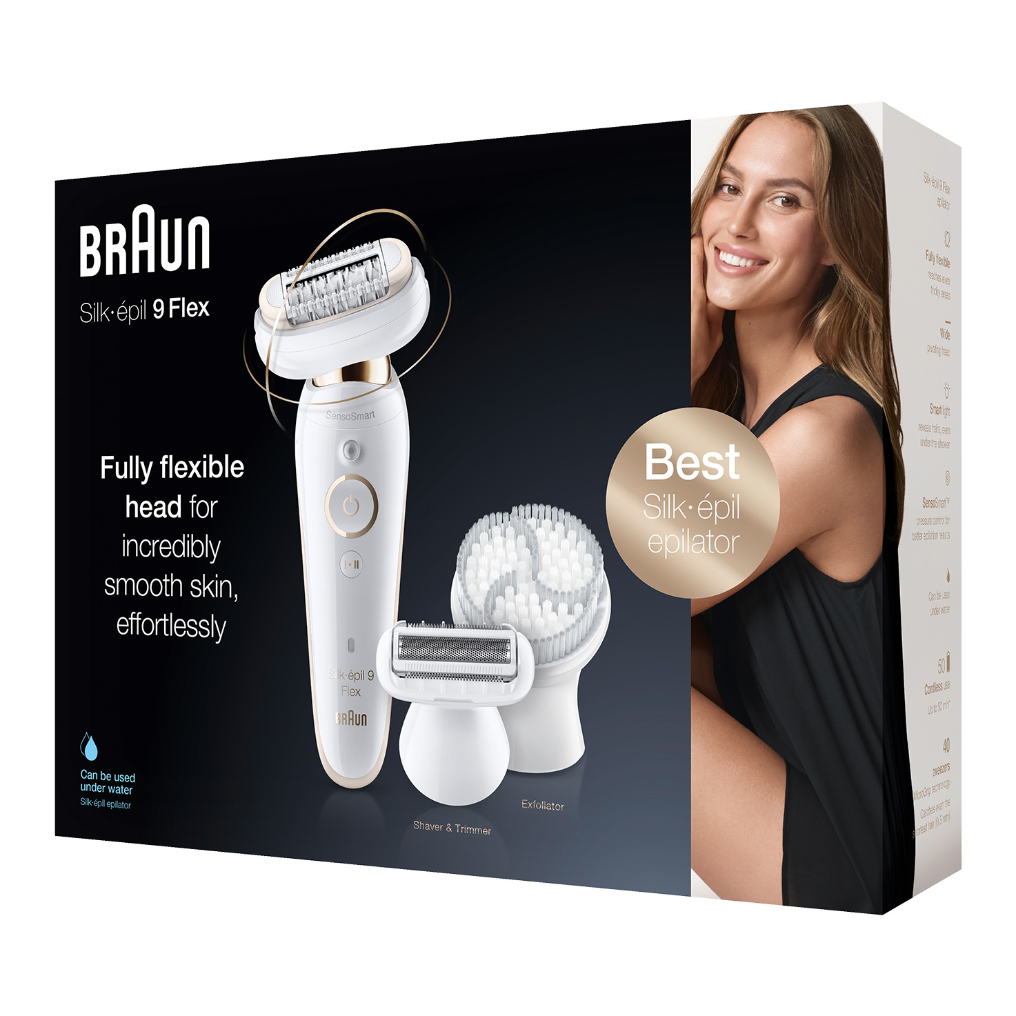 Silk-épil 9 Flex 9-030 epilator