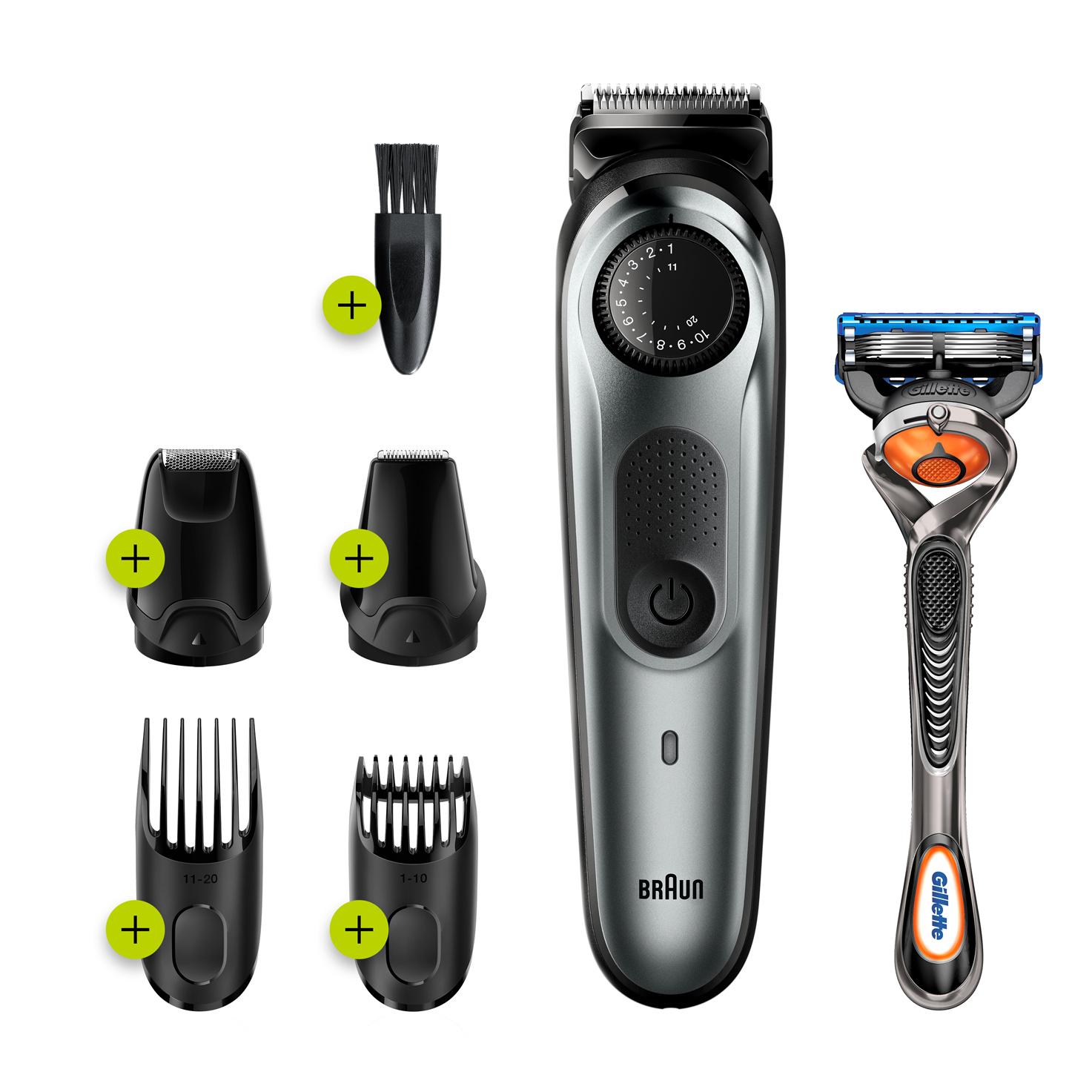 чистка триммера для бороды