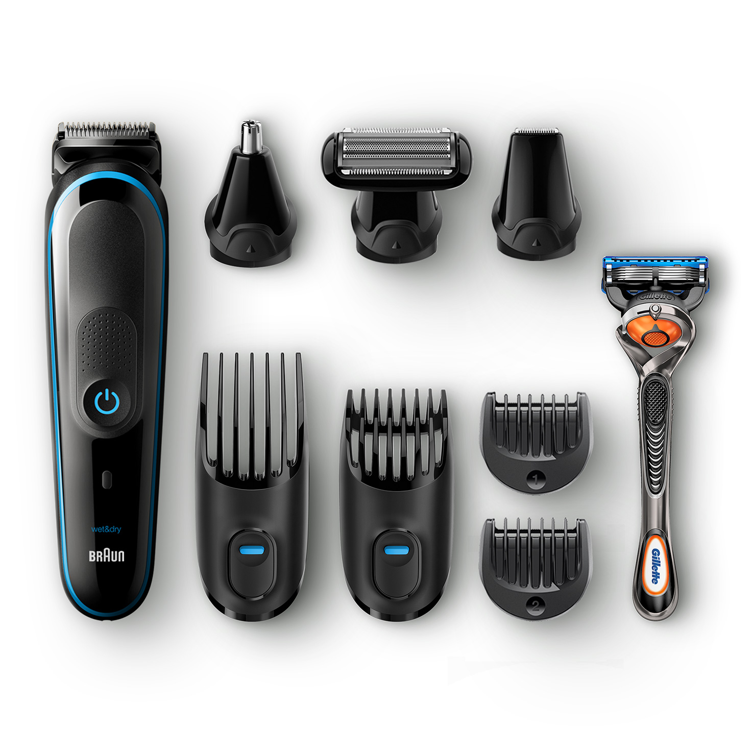 Braun All-in-one trimmer MGK5080 - What´s in the box