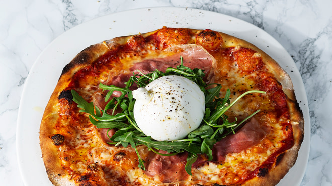 Pizza Burrata