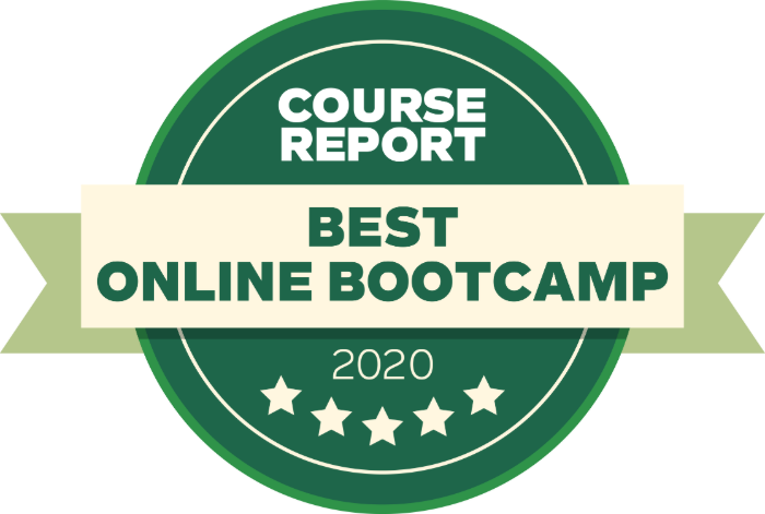 CourseReport calls Hack Reactor a best online bootcamp 2020