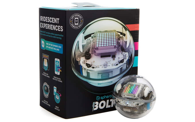 Sphero BOLT: App-Enabled Robot Ball with Programmable Sensors