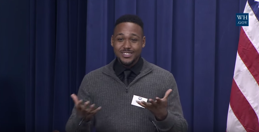 Hack Reactor Remote Beta Grad Speaks about Improving Policing Efforts at the White House's Image
