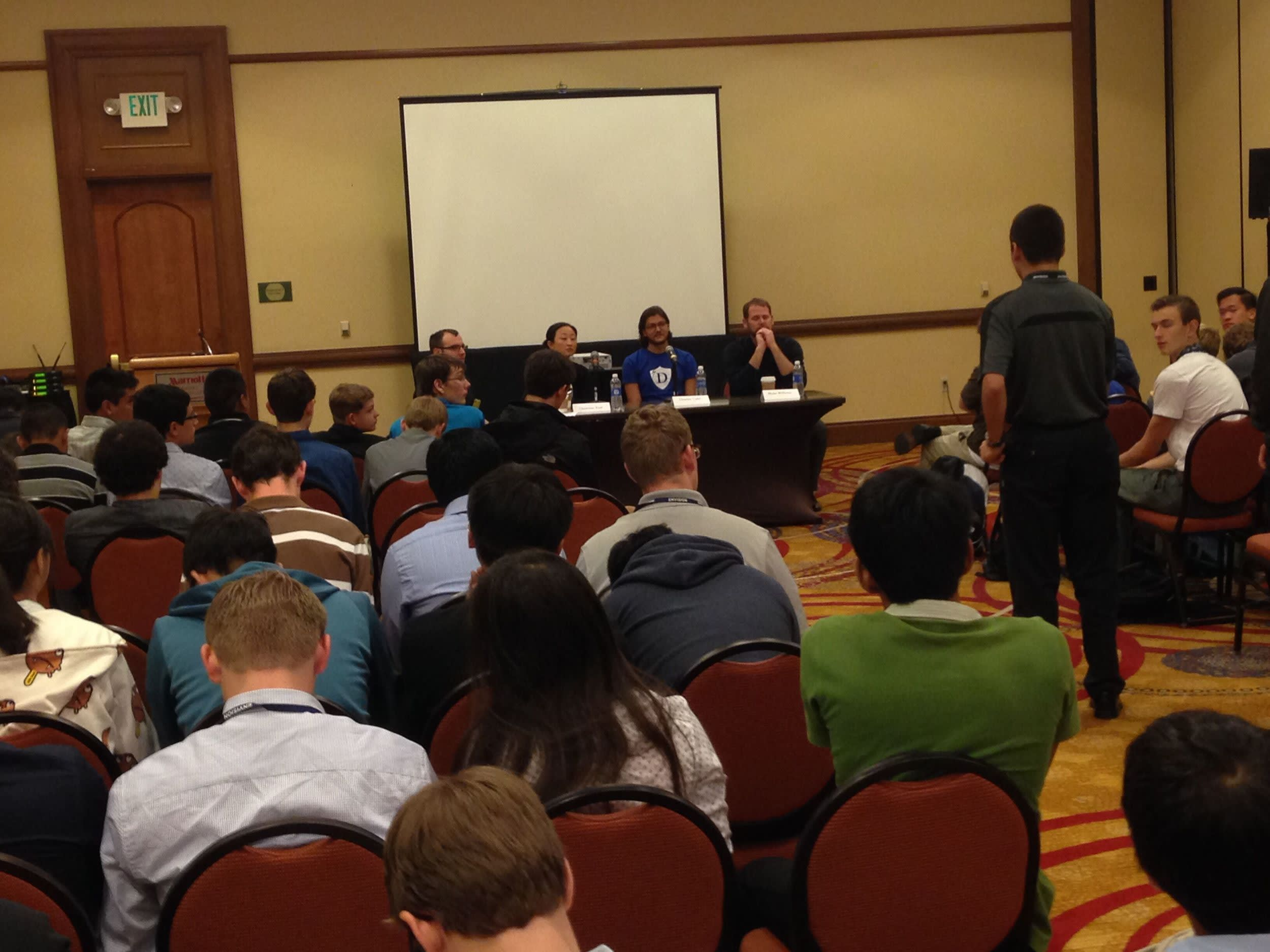 Student Outcomes Director Talks Tech Industry at National Youth Leadership Forum Panel's Image