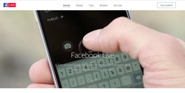 Facebook Live Pre livestream chatbot