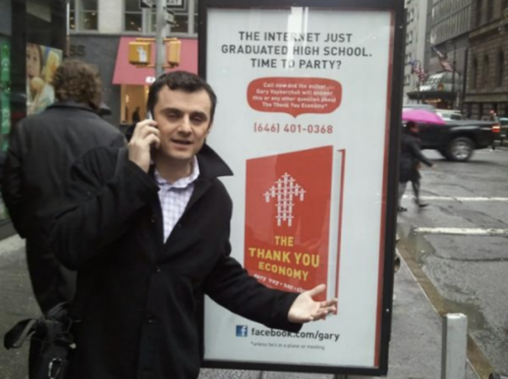 Gary Vee Billboard chatbot