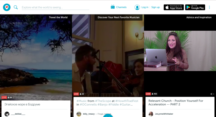 Periscope Post livestream chatbot