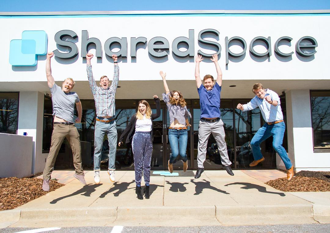 The SharedSpace Team at SharedSpace Cobb