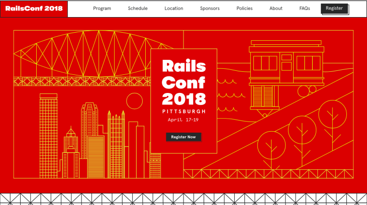 RailsConf Post trade show conference chatbot