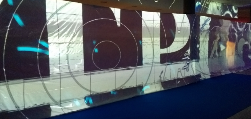 CCC - wall projection