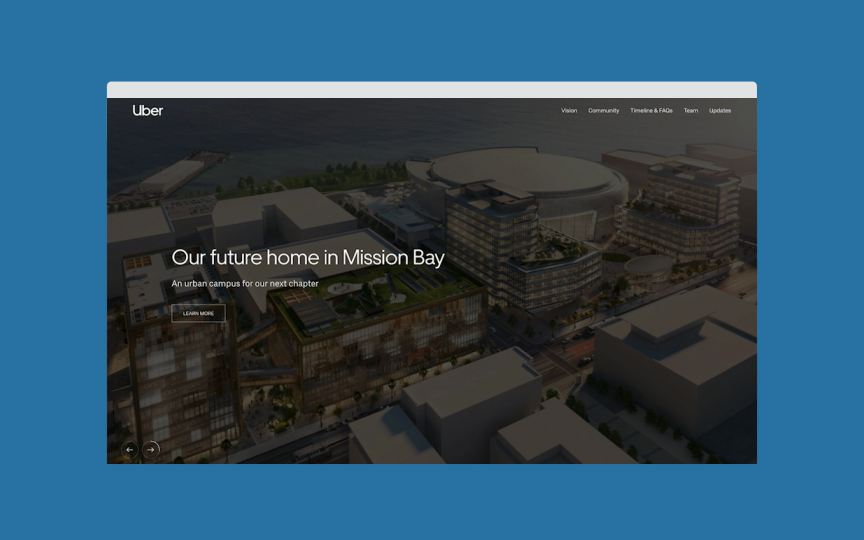 Uber | Mission Bay 2020 | HAUS