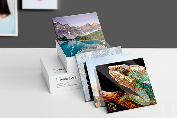 Sample Pack Acrylic Photo Print