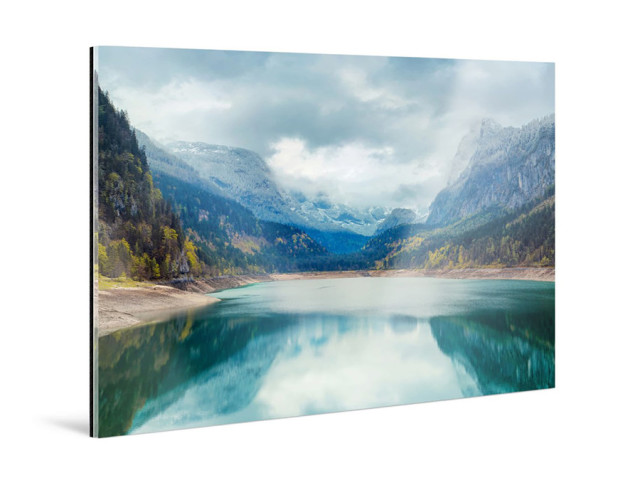 Photo Print under Matte Acrylic - mounting photo under acrylic glass
