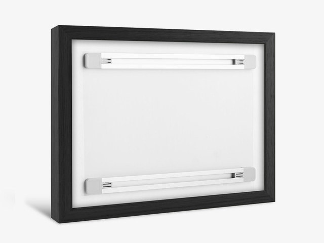 Shadow Box Frame Integrated Hanging System