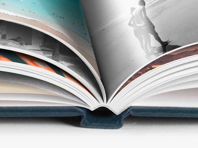 Le livre photo WhiteWall à couverture rigide