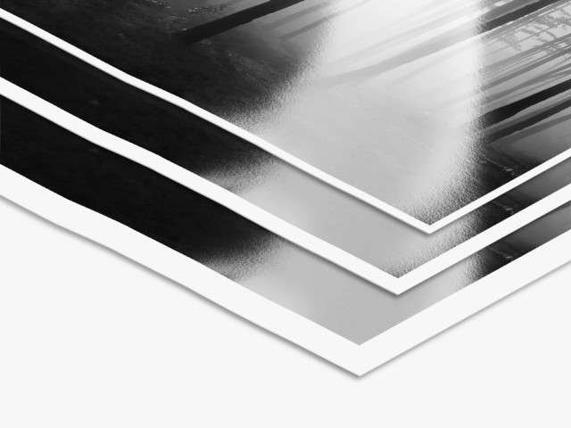 LightJet Print On Ilford Black and White Photo Paper with White Border