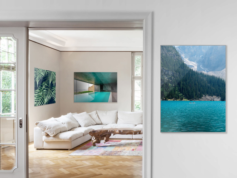 Acrylic Print with Slimline Case | Room View