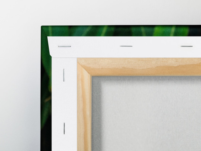 Hang Your Textile Print From Its Stretcher Frame
