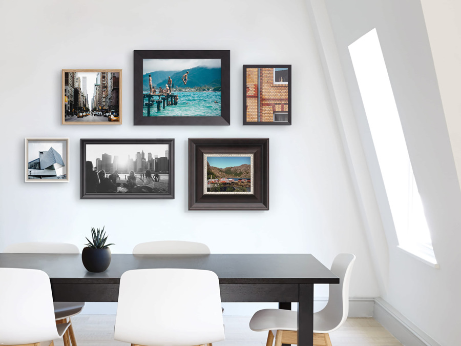 Gallery Frame with Photo Print