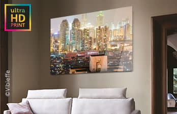 Gift LP | ultraHD Photo Print Under Acrylic Glass